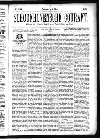 Schoonhovensche Courant 1893-03-04