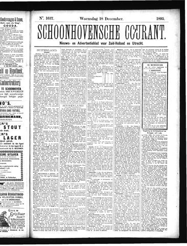 Schoonhovensche Courant 1895-12-18