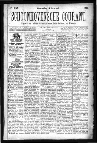Schoonhovensche Courant 1917-01-03