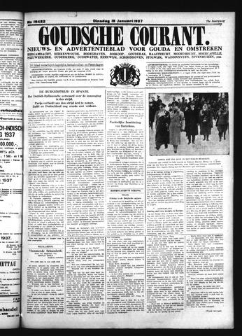 Goudsche Courant 1937-01-19