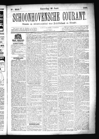 Schoonhovensche Courant 1909-06-26