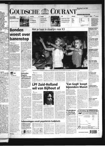 Goudsche Courant 2002-07-31