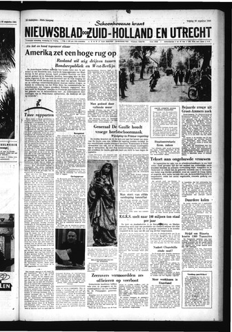 Schoonhovensche Courant 1961-08-25