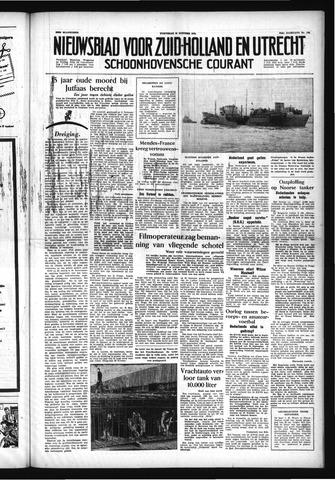 Schoonhovensche Courant 1954-10-13