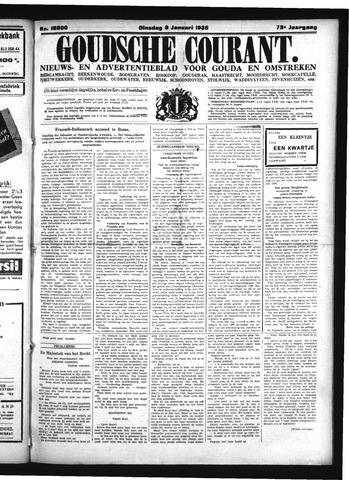 Goudsche Courant 1935-01-08