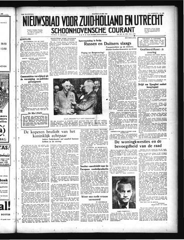 Schoonhovensche Courant 1949-05-23