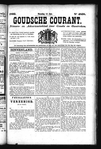 Goudsche Courant 1892-06-13