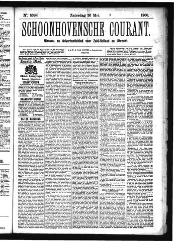 Schoonhovensche Courant 1900-05-26
