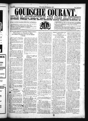 Goudsche Courant 1937-09-29