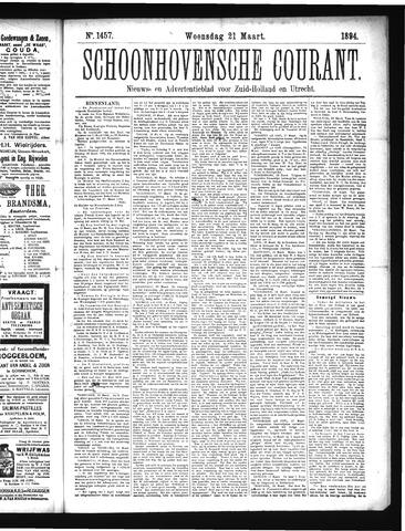 Schoonhovensche Courant 1894-03-21