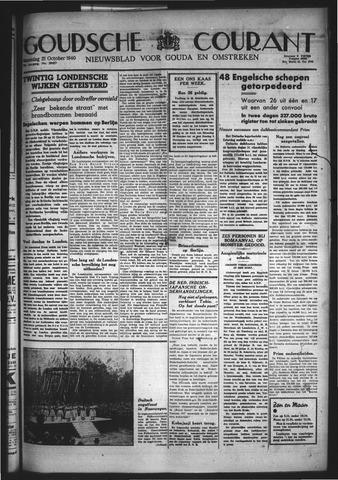 Goudsche Courant 1940-10-21