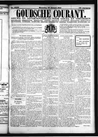 Goudsche Courant 1934-01-22