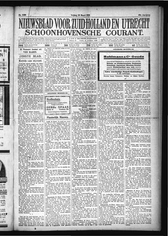 Schoonhovensche Courant 1928-03-30