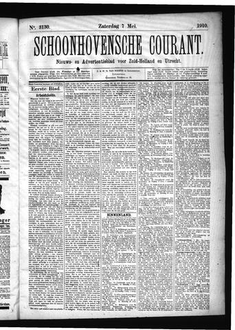 Schoonhovensche Courant 1910-05-07