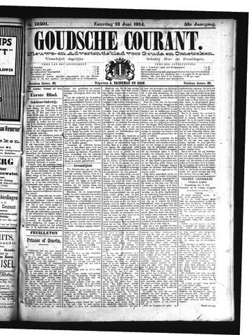 Goudsche Courant 1914-06-13