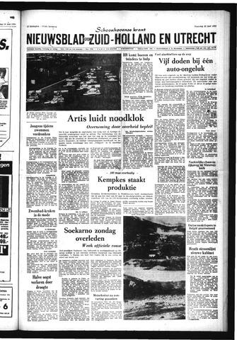 Schoonhovensche Courant 1970-06-22