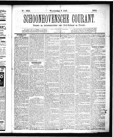 Schoonhovensche Courant 1912-07-03