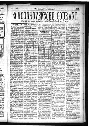 Schoonhovensche Courant 1911-11-08