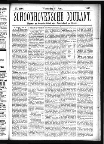 Schoonhovensche Courant 1896-06-17