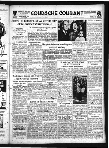Goudsche Courant 1951-04-18