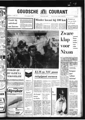 Goudsche Courant 1974-04-17