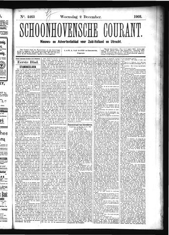 Schoonhovensche Courant 1903-12-02
