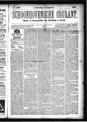 Schoonhovensche Courant 1897-08-07