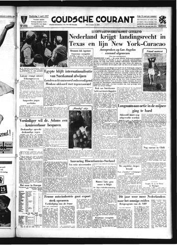 Goudsche Courant 1957-04-04