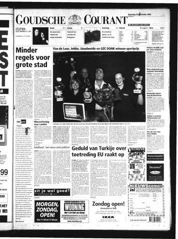 Goudsche Courant 2002-11-23