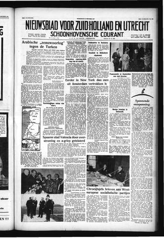 Schoonhovensche Courant 1957-10-16