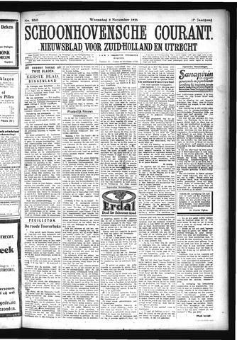 Schoonhovensche Courant 1925-11-04