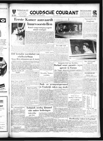 Goudsche Courant 1957-07-25