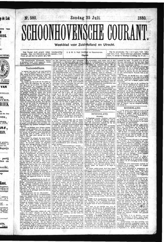 Schoonhovensche Courant 1880-07-25