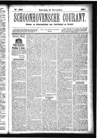 Schoonhovensche Courant 1904-12-10
