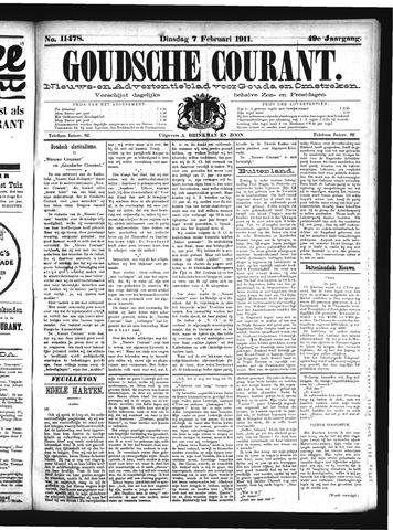 Goudsche Courant 1911-02-07