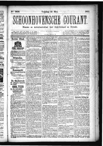 Schoonhovensche Courant 1915-05-21
