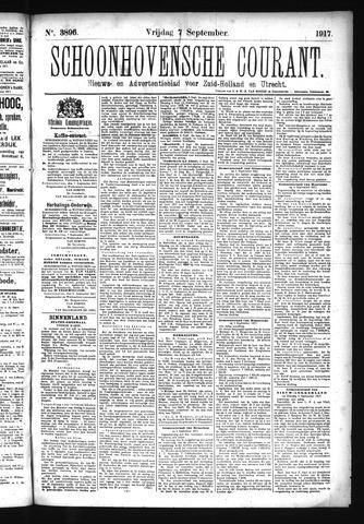 Schoonhovensche Courant 1917-09-07
