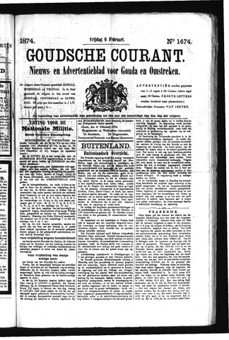 Goudsche Courant 1874-02-06