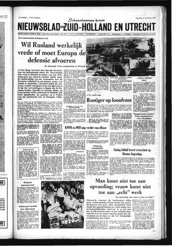 Schoonhovensche Courant 1970-11-30