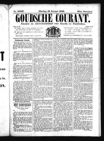Goudsche Courant 1909-01-19