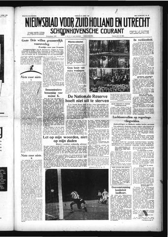 Schoonhovensche Courant 1958-04-25
