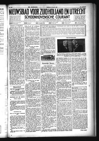 Schoonhovensche Courant 1933-03-27