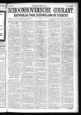 Schoonhovensche Courant 1925-10-05