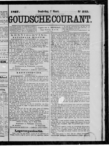 Goudsche Courant 1867-03-07