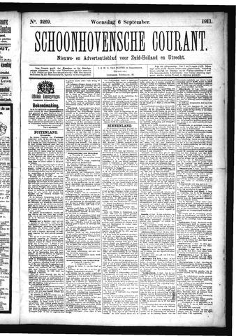 Schoonhovensche Courant 1911-09-06