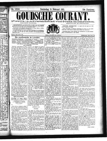Goudsche Courant 1921-02-10