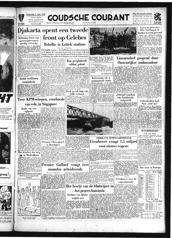 Goudsche Courant 1958-04-03
