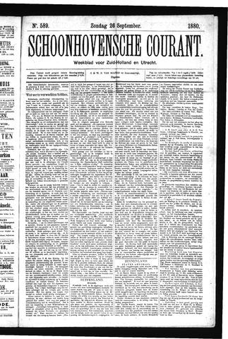Schoonhovensche Courant 1880-09-26