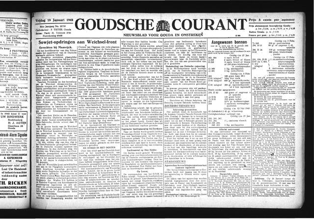 Goudsche Courant 1945-01-19