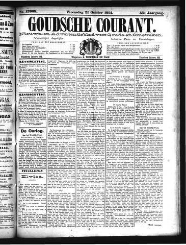 Goudsche Courant 1914-10-21
